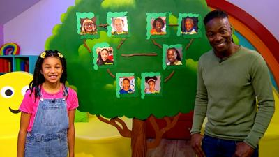 CBeebies House - Nigel and Sienna's Family Tree