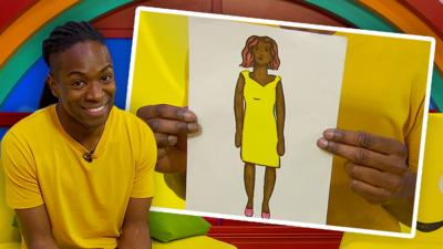 CBeebies House - Can you draw someone special?