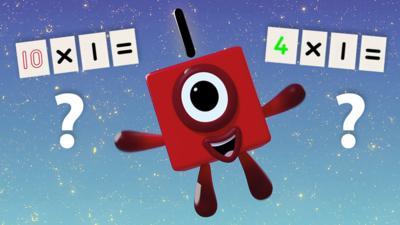 Numberblocks - One Times Table Quiz