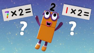 Numberblocks - Two Times Table Quiz