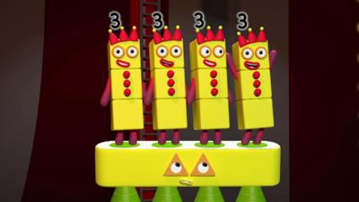 Numberblocks - Three Times Table Song