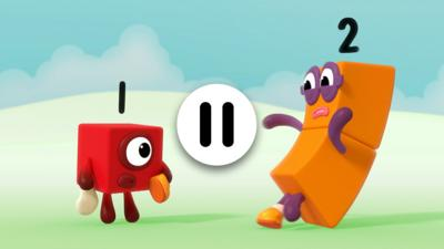Numberblocks 1 and 2