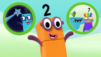 Numberblocks - Numberblocks Make and Play game