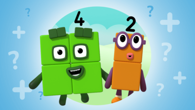 Numberblocks - Add up with the Numberblocks