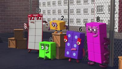 Numberblocks - Evens