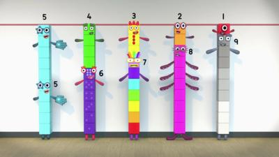 Numberblocks - Find your ten friends