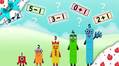 Numberblocks - Numberblocks super sum spotter