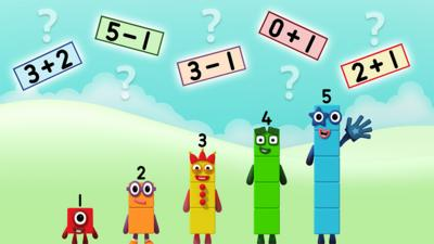 Numberblocks - Super Sum Spotter Quiz