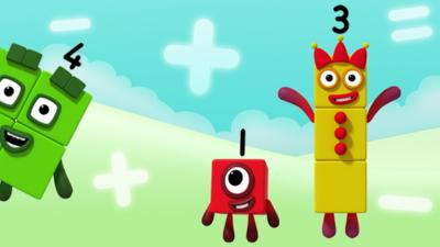 Numberblocks - Number Magic - Adding and Subtracting