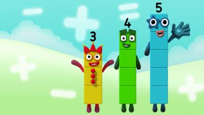 Numberblocks - Easy Patterns Quiz