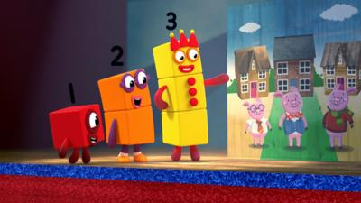 Numberblocks - The Three Song
