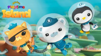 Octonauts - Octonauts Ocean Adventures in the Playtime Island App