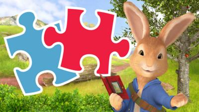 Peter Rabbit - Who is hiding in these jigsaw puzzles?
