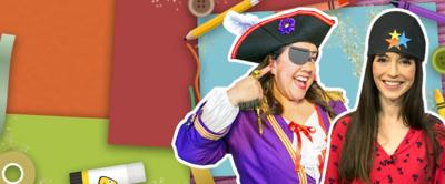 How to make a pirate hat and eyepatch