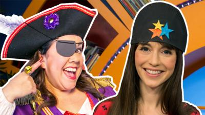 Swashbuckle - How to make a pirate hat and eyepatch