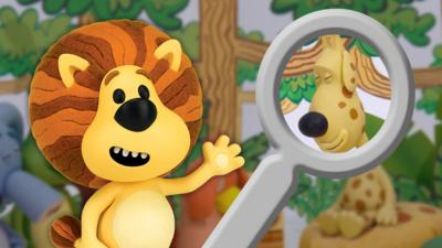 Raa Raa the Noisy Lion - Spot the Differences with Raa Raa