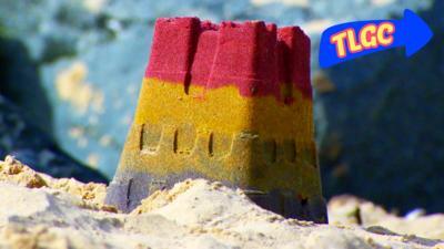 The Let's Go Club - Rainbow Sandcastle