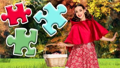 CBeebies Little Red Riding Hood - Little Red Riding Hood Jigsaw