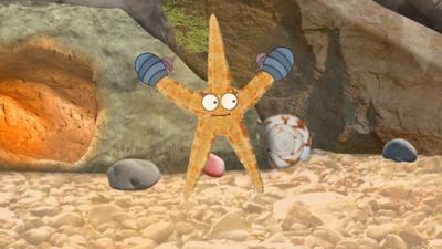 Old Jack's Boat: Rockpool Tales - Meet Sally the Starfish