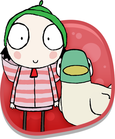 Sarah and Duck.