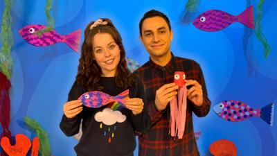 CBeebies House - We want to see your sea creature creations!
