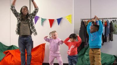 CBeebies Little Red Riding Hood - Simple ballet moves to try at home