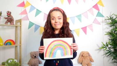CBeebies House - Sing a Rainbow with Evie