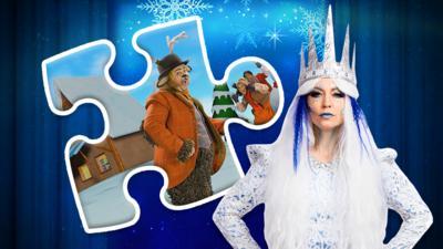 CBeebies The Snow Queen - CBeebies The Snow Queen Jigsaw