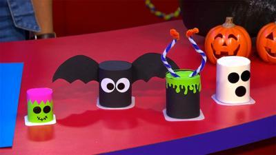 CBeebies House - Creepy Halloween Yoghurt Pot Creatures