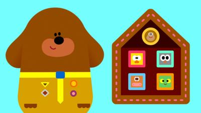 Hey Duggee - Earn your Stay at Home Badge