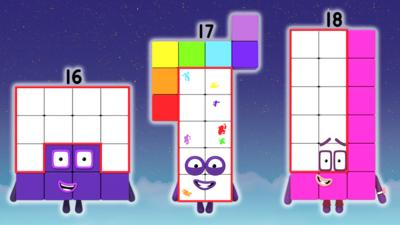 Numberblocks - Number Magic Quiz Level 3