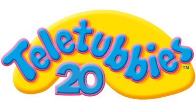 Teletubbies 20th anniversary logo.