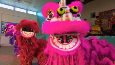 The Let's Go Club - Chinese Lion Dance