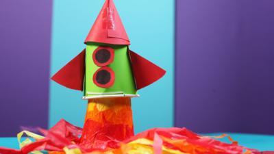 The Let's Go Club - Paper Cup Rocket