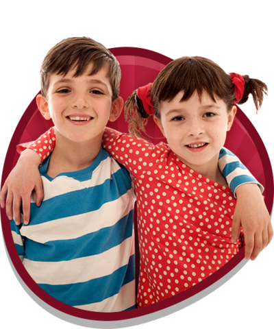 Topsy and Tim.