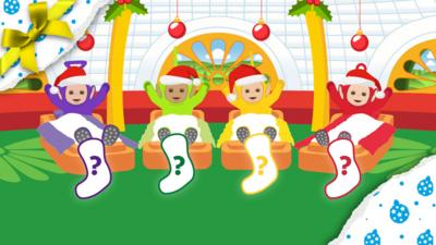 Teletubbies - Find the Christmas stockings