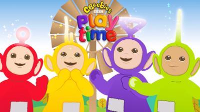 Teletubbies - Teletubbies Game in CBeebies Playtime!