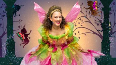 CBeebies A Midsummer Night's Dream - Turn yourself into a Fairy