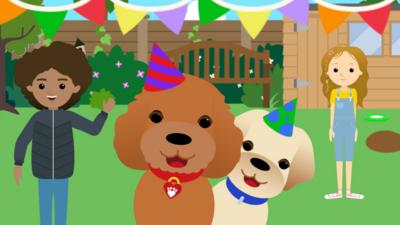 Waffle the Wonder Dog - Waffle and Friends Game