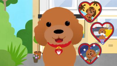 Waffle the Wonder Dog - Waffle's Puppy Playtime game