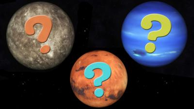 Stargazing - Find out which planet you are!