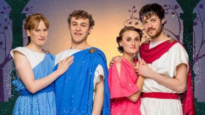 CBeebies A Midsummer Night's Dream - Meet the Young Athenians
