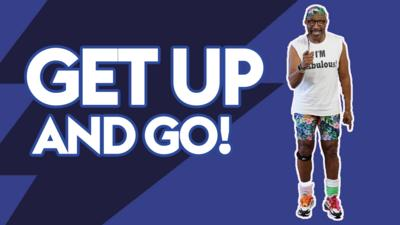 Get up and skip with Mr Motivator