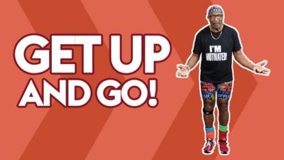 Get up and jump with Mr Motivator
