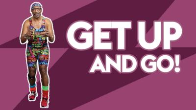 Get up and be a star with Mr Motivator