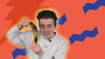 Jamies tries zombie banana internet hack