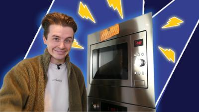 Jamie tests out some microwave treats