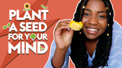 Plant a seed for your mind