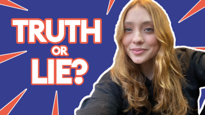 QUIZ: 3 Truths 3 Lies with Rio Fredrika