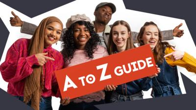 Online safety support: Quickly find internet safety and wellbeing advice for children aged 8-12 with this handy Own It A to Z